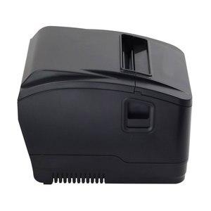 Image 2 - Impresora WIFI POS de alta calidad, 80mm, impresora de recibos automática, wifi + interfaz usb para supermercado, tienda de té de la leche