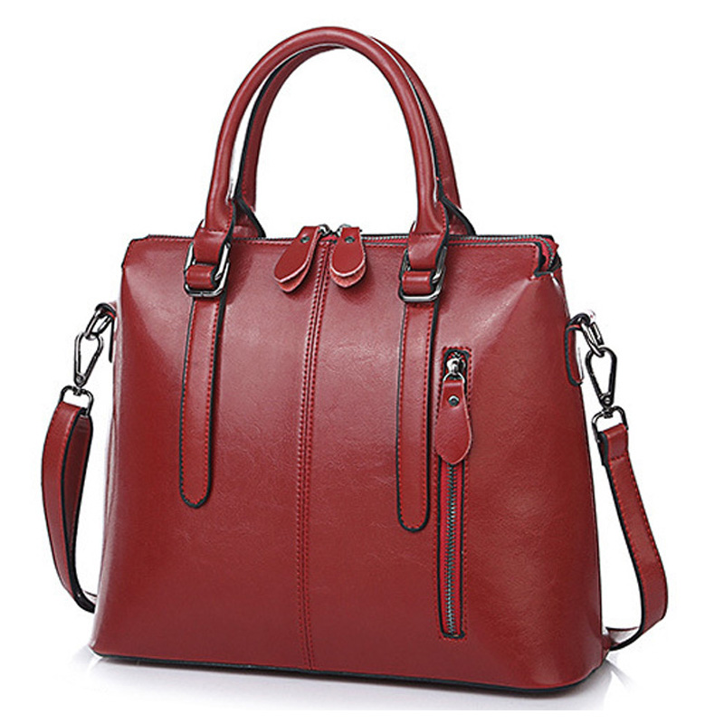 New Genuine Leather Women Handbag Luxury Designer Ladies Messenger Bag Brand Female Natu ...