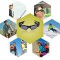 2016 mais novo Sem Fio Bluetooth 4.1 Handsfree fone de Ouvido Estéreo Fone De Ouvido Óculos De Sol ABS + PC