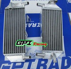 Алюминиевый радиатор для Honda CRF250R CRF 250R CRF250 2010-2013 2011 2012 10 11 12 13 RH & LH GPI Racing
