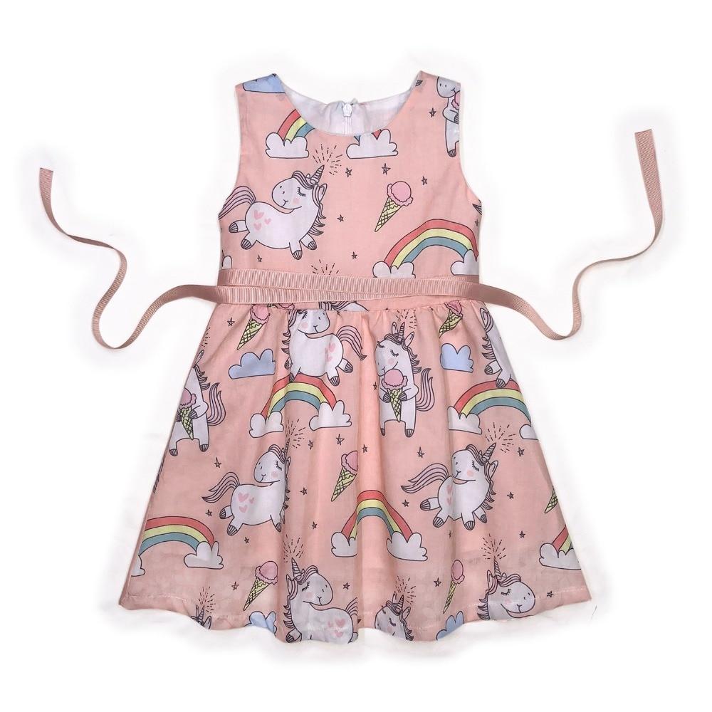 Woven, Toddller, Sleeveless, Baby, Dress, Gilrs