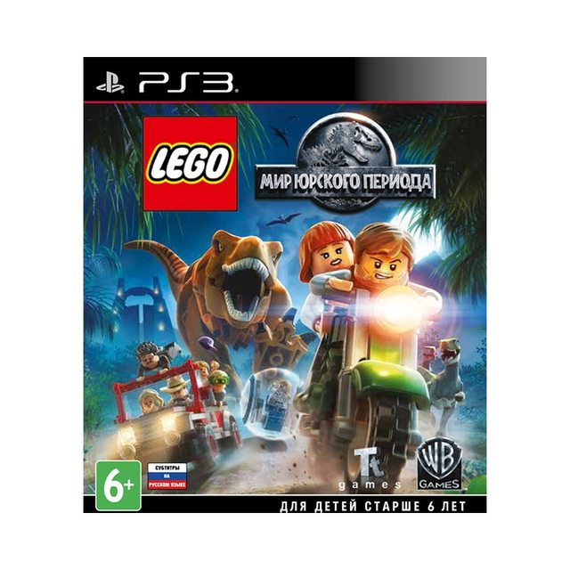 Игра для PlayStation 4 LEGO Мир Юрского периода
