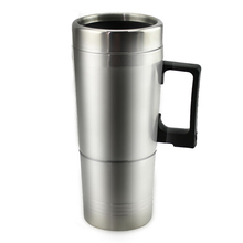 1pcs 300ml 12V Car Based Heating Cup Stainless Steel Kettle Travel Trip Coffee Tea Heated Mug