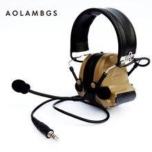 Тактический Гарнитура IPSC Съемки Защитные Наушники С Пикап Функция Спорт Охота Электронный Средства Защиты Органов Слуха Наушники