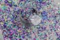 Al781-142 mezcla holográfica colores hexágono shapes Glitter para el arte del clavo y la decoración de DIY 1 Pack = 50 g