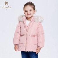 Simyke Girls Winter Coats 2017New Children S Warm Outwear Kids Fleece Jackets For Toddler Girl Parks