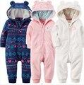 Primavera outono bebê meninos meninas roupas de bebê romper polar roupas bebê recém-nascido romper crianças homewear sleepwear