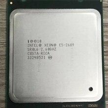 Процессор Intel Xeon E5 2689 LGA 2011 2,6 ГГц 8 ядер 16 потоков cpu E5-2689