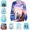 Cute Women/Men Cartoon Hoodies Minnie Print 3D Sweatshirt Winter Anna/Kristoff/Elsa/Olaf/Hans Coat Clothes Harajuku Hoodie Tops