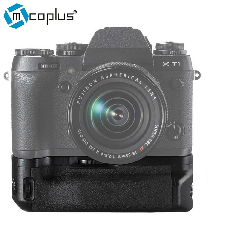 Mcoplus BG-XT1 MK-XT1 Vertical Battery Grip for Fujifilm Camera X-T1 Replacement for VG-XT1 OEM Meike meike mk xt1 battery grip for fujifilm x t1 as vg xt1