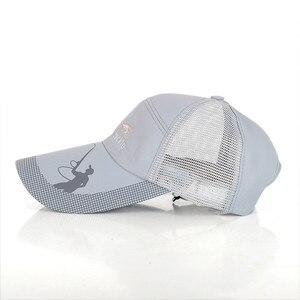 Image 5 - 2018 Brand New Simms outdoor sport Men fishing cap letter fishing caps baseball cap bucket hat sunshade hat free size