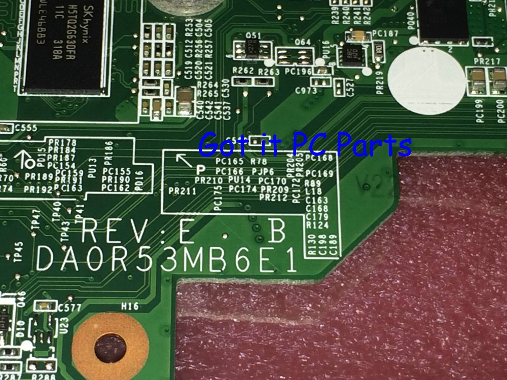 NEW + HOT IN RUSSIA.. Free Shipping DA0R53MB6E1 REV : E R53 For HP Pavilion G6 Notebook PC Laptop Motherboard 683031-501