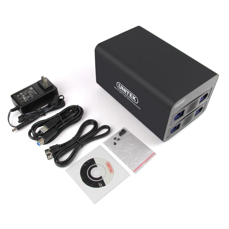 USB3.0 + eSATA to SATA3.0 2bay HDD array Enclosure RAID0/1/большой/нормальный Поддержка 2.5