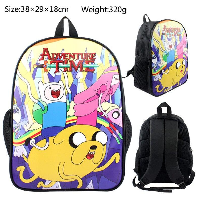 Ragazze Giappone Adventrue Zaino Bag Tempo b Pollice School Book Finn Regalo Sacchetto Bambini Ragazzi Anime 11 Children Martinetti A Stampato Del wSPTt