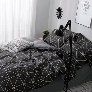 Image 3 - Lanlika 2020 Bedding Set Duvet Cover Set King Queen Full Twin Brief Flat Sheet Man Adult Nordic Bedspread Home Bed Linen Set
