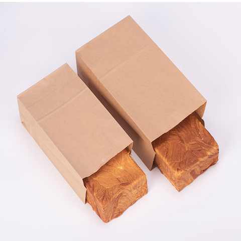 10pcs Kraft Paper Bags Food Tea Small Gift Bags Sandwich Bread Bags Party Wedding Supplies Wrapping Gift Takeout Take Out Bags Karachi