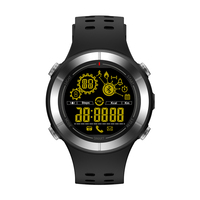 2018 Smart Watch Waterproof 50M Outdoor Sports Depth Free Charging Long Standby Phone Information Reminder Alarm Bluetooth Mode