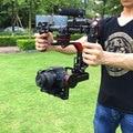 Ручной 3-Axis Гироскоп Бесщеточный Gimbal Стабилизатор для DSLR Камеры 5D3/GH4/A7S/BMPCC