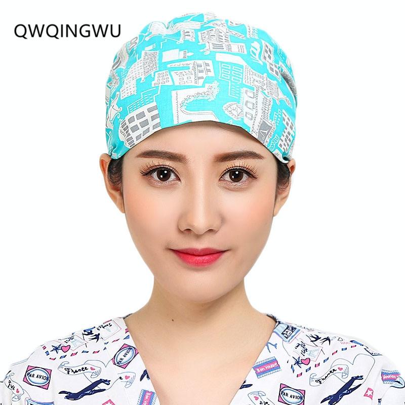 قبعات سيدات الجراحية الطباعة قبعات - منتجات جديدة