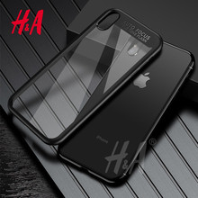 H&A Full Cover Protective Case For iPhone X 10 TPU & PC Hard Clear Slim Back Cover For Apple iPhone X Case 10 Phone Cases(China)