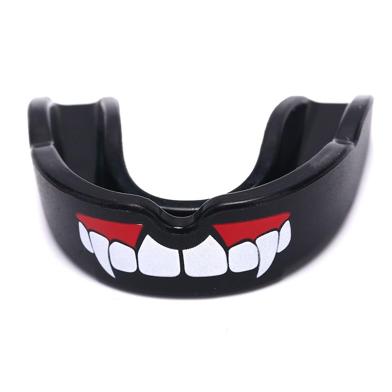 Teeth Protect Adult Football Basketball Boxing Mouth Safety Mouth Guard Oral Fang Mouthguard Taekwondo Muay Thai Teeth Protector(China)