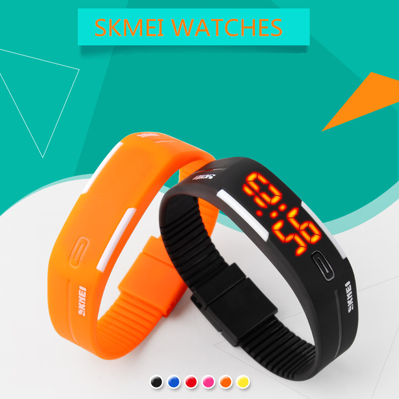 2016 Skmei Lady Watch Fashion Children Electronic LED Digital Wristwatches Swim Students Sports Watches Boys Girl Ladies Relojes perfect gift boys girls students time electronic digital wrist sport watch green levert dropship nov29