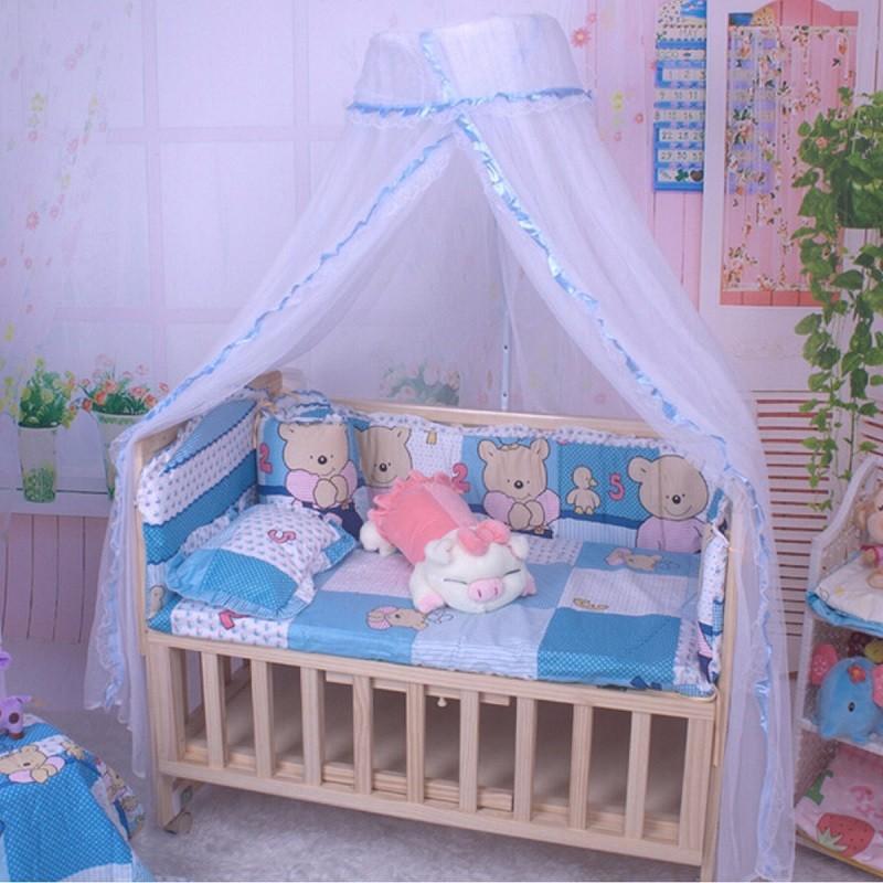 cuna de beb infant bed canopy mosquitera tent cuna netting soporte nios cama de beb accesorios hung dome piso blanco neto ver