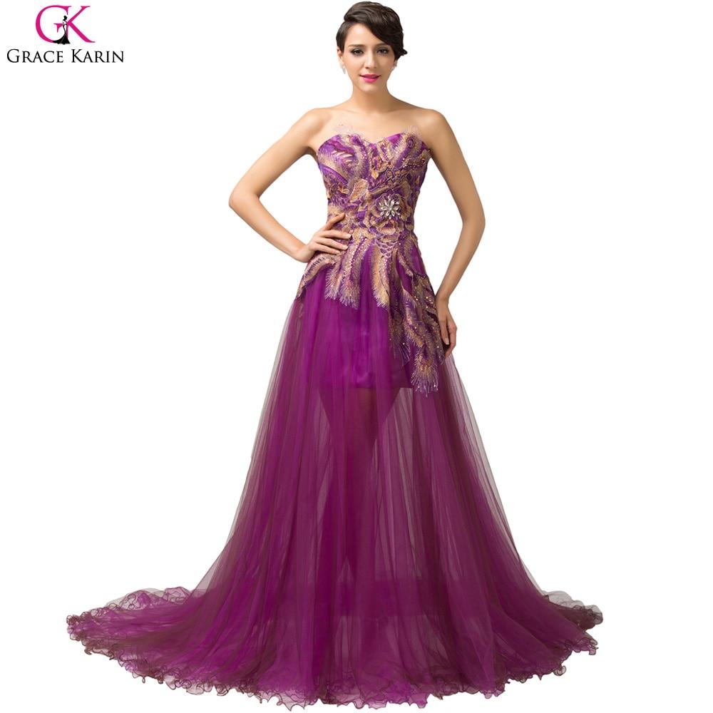 Online Get Cheap Evening Gowns Purple -Aliexpress.com | Alibaba Group