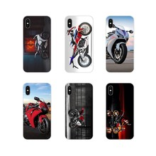 motorcycle Honda CBR1000rr Accessories Phone Shell Covers For Motorola Moto X4 E4 E5 G5 G5S G6 Z Z2 Z3 G G2 G3 C Play Plus(China)