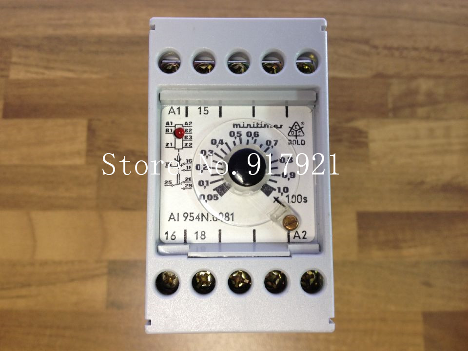 [ZOB] Import A1954N0081 time relay 0-100s 220V  --5pcs/lot гипс забудова в рб