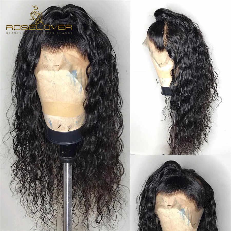 Вьющиеся короткие боб парики 13*6 глубокая часть влажные и волнистые кружева передние человеческие волосы парики предварительно сорвал с волосами младенца малазийские волосы с однонаправленной кутикулой