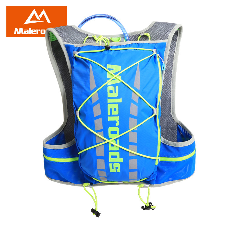 Maleroads 5L Water Bag Sport Bag Running Vest Marathon Running Backpack Lightweight Breathable Water Bag Sport Accessories