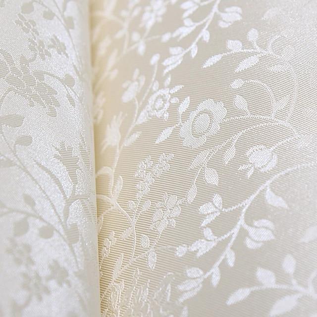 Free Shipping Pure Elegant Silk Flower Wallpaper Texture Pattern