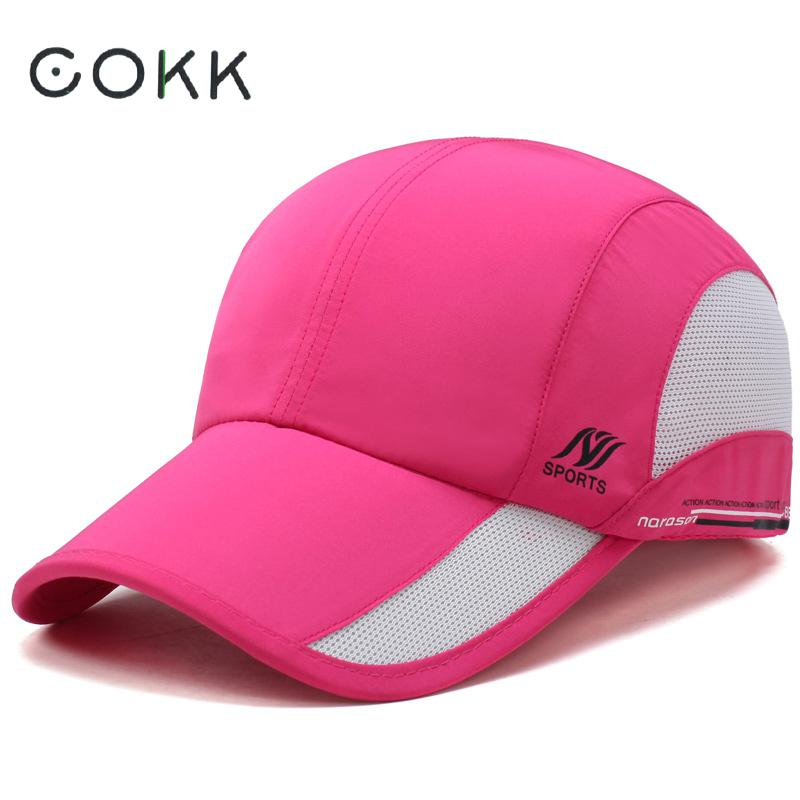 Baseball Cap For Women Men Quick-drying Waterproof Breathable Mesh Snapback Hat Trucker Hat Adjustable Sun