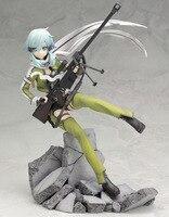 Good PVC Kotobukiya Sword Art Online 1/8 Sinon Phantom Bullet Action Figure Anime SAO GGO Model Toy Collectibles Gift 23cm A164
