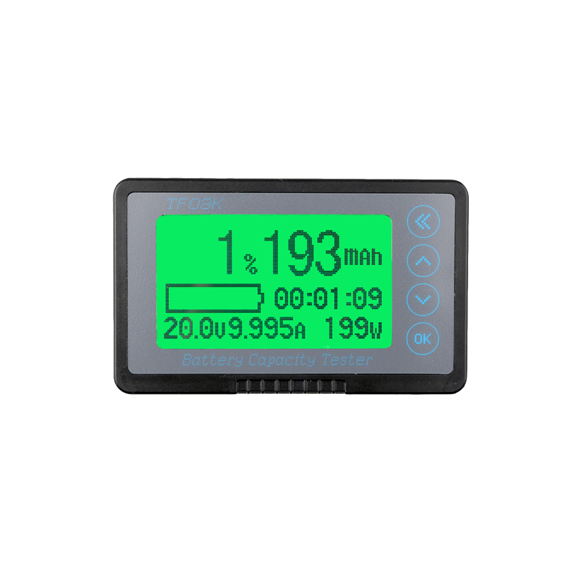 TF03K with Shell Coulomb Meter, Electric Car Battery, Battery Display, DC Digital Display high tech and fashion electric product shell plastic mold