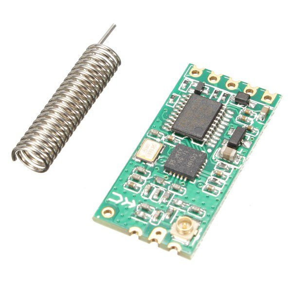 HC-11 HC11 433MHz Wireless RF Serial UART Module CC1101 5V 3V AT Command