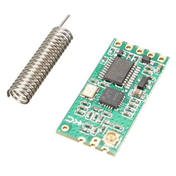HC-11 HC11 433MHz wireless RF serial UART module CC1101 5V 3V AT command