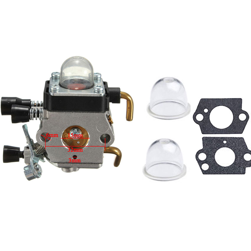 buy carburetor carb fit stihl fs38 fs45  black bedroom