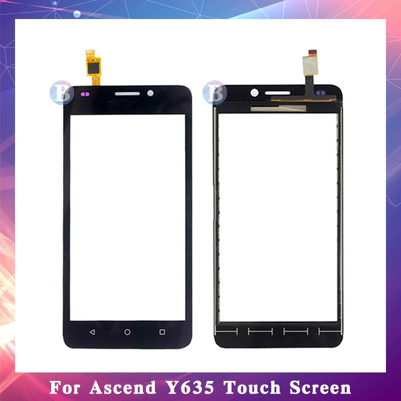 10Pcslot High Quality 5.0 For Huawei Ascend Y635 Touch Screen Digitizer Sensor Outer Glass Lens Panel