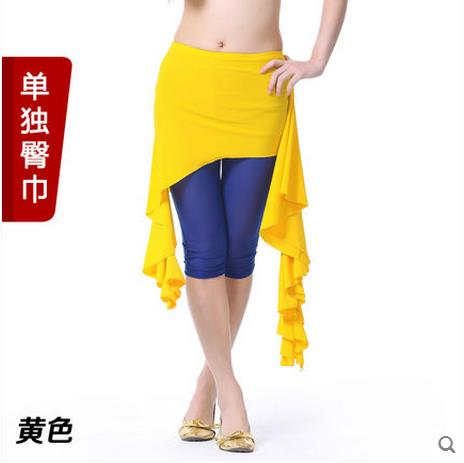 Skirt Belly-Dance-Costumes Women Short Sexy NEW Crystal Cotton for Exercise