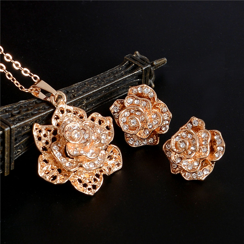 Golden Plated Jewelry Set 8