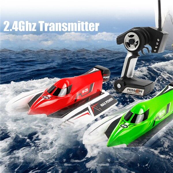 все цены на  New 45km/h WL915 2.4GHz RC Brushless Boat High Speed Max Power RCToys For Child  онлайн