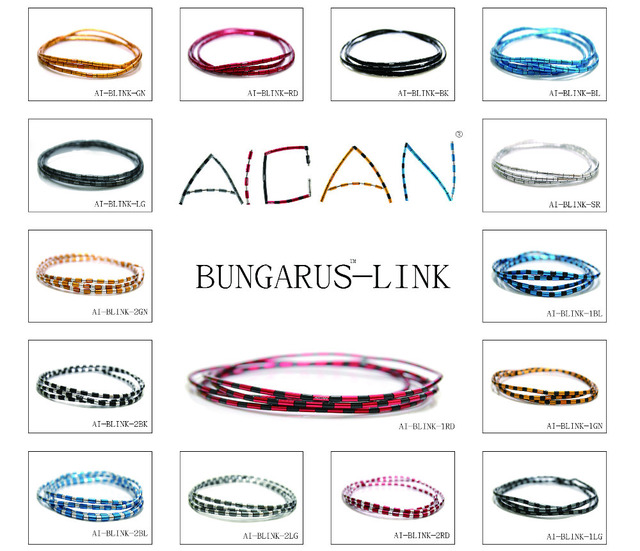 Superb BRAKE / SHIFT * 15 Colors * AICAN ALLIGATOR MINI LINK 4MM Bungarus Brake  Housing /