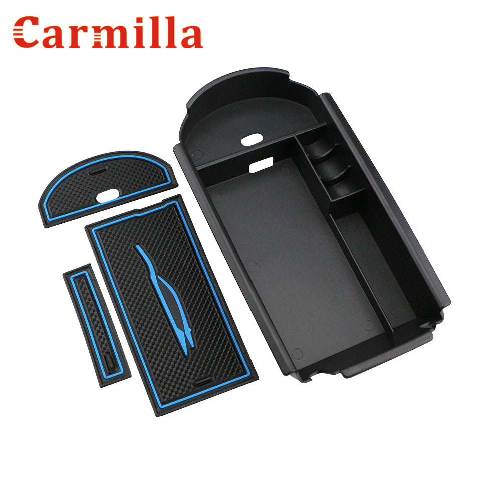 Carmilla Suitable For Toyota C-HR CHR 2016 2017 2018 Car Central Armrest Box storage box Interior Accessories Stowing Tidying