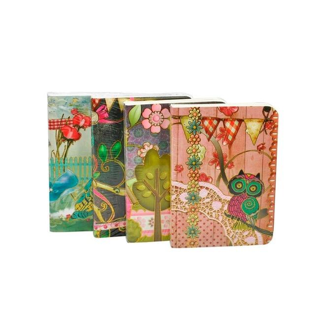 Victoria's Journals Owls Soft Cover Notebook Journal