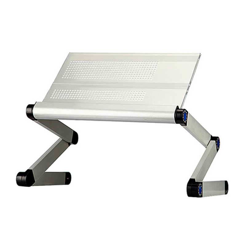 Image 3 - High Quality Portable foldable adjustable folding table for Laptop Desk Computer Desk mesa para notebook Stand Tray For Sofa Bed-in Laptop Desks from Furniture
