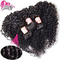 Brazilian Curly Virgin Hair 7A Brazilian Virgin Hair Human Hair Weave 3pcs Lot Unprocessed Brazilian Deep Curly Virgin Hair Weft