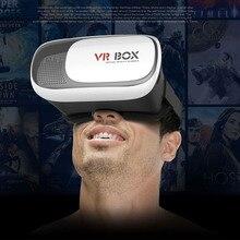 2017 VR BOX II 2.0 VR Virtual Reality 3D Glasses Helmet Google Cardboard Headset Version for 4.0 – 5.5 inch Smart Phone iPhone