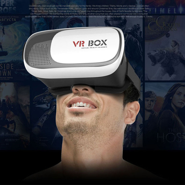 2017 VR BOX II 2.0 VR Virtual Reality 3D Glasses Helmet Google Cardboard Headset Version for 4.0 – 6.0 inch Smart Phone iPhone